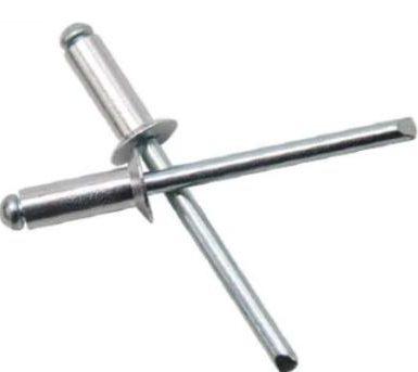 DIN7337B neredzētas aklās kniedes ar grunts galvu