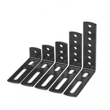 Metināšanas un štancēšanas metāla stenda plauktu stiprinājums